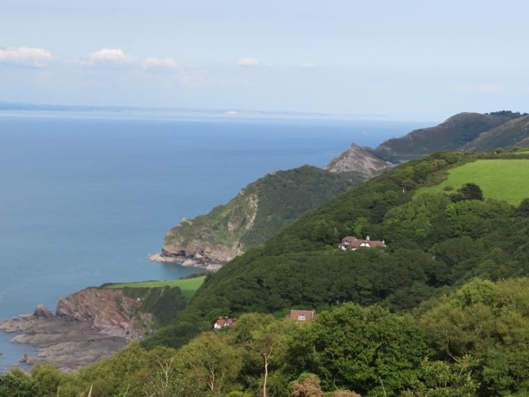United Kingdom England South-west, South West Coast Path, West of Heddon Valley, N Devon, Walkopedia