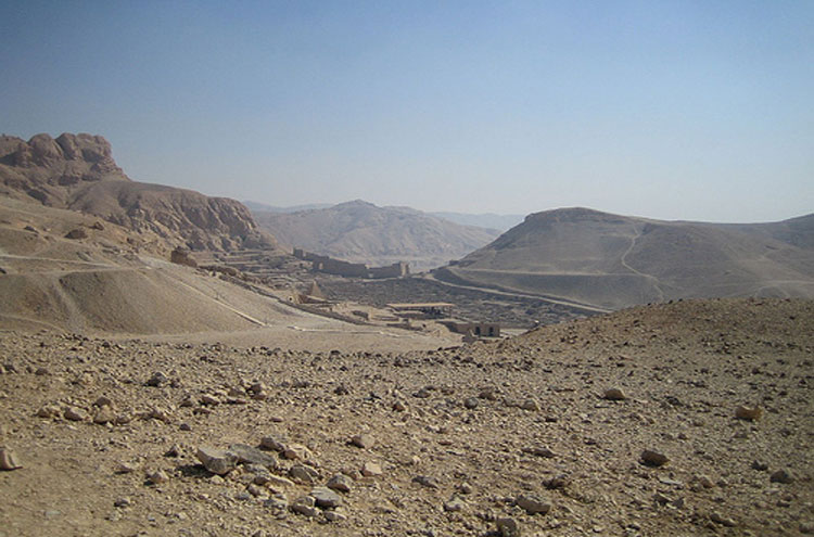 Probable Deir el-Medina - © From Flickr user Joanne_and_Matt