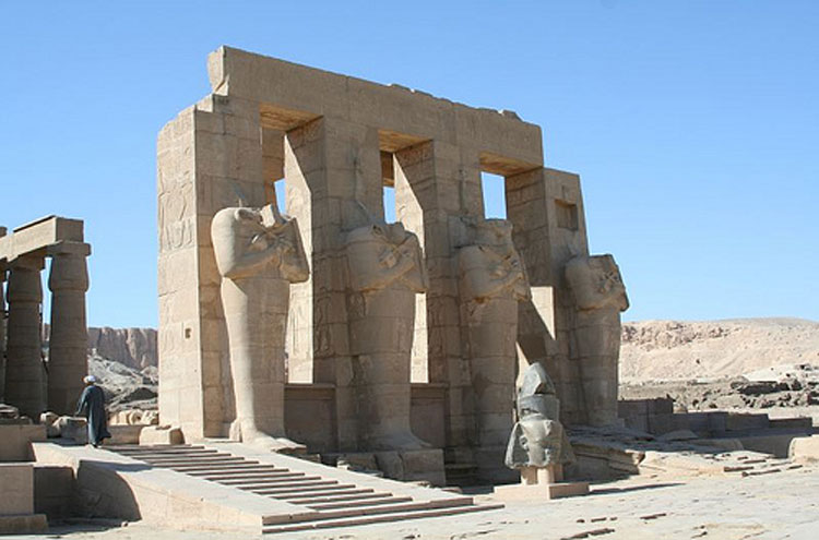 Ramesseum - © From Flickr user NinaHale