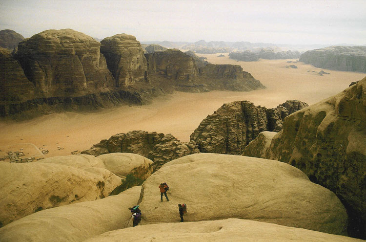 Jebel Rum descent - © By Flickr user Polandeze