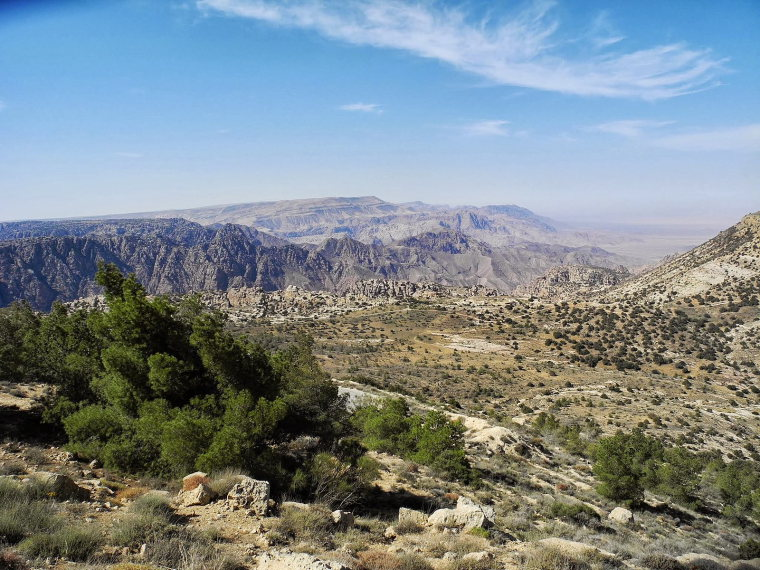 Dana Area: Rummana Mountain Trail - © wiki user hikinginjordan