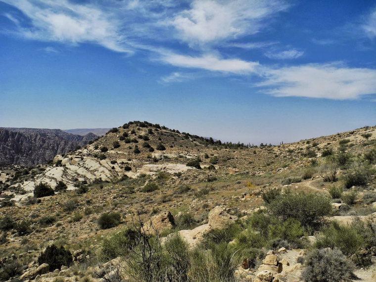 Dana Area: Rummana Mountain Trail 2 - © wiki user hikinginjordan