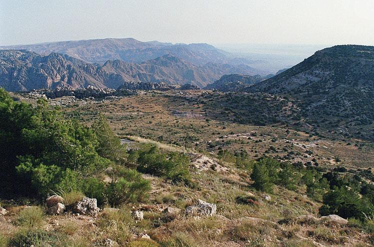 Dana Area: Dana Nature Reserve - ? From Flickr user Philipp Dennert