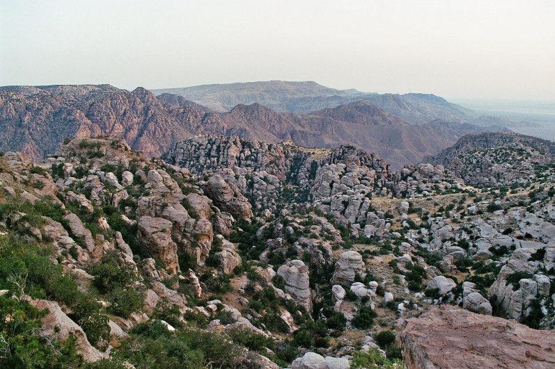 Dana Area: Dana Nature Reserve - © wiki user Philipp Dennert