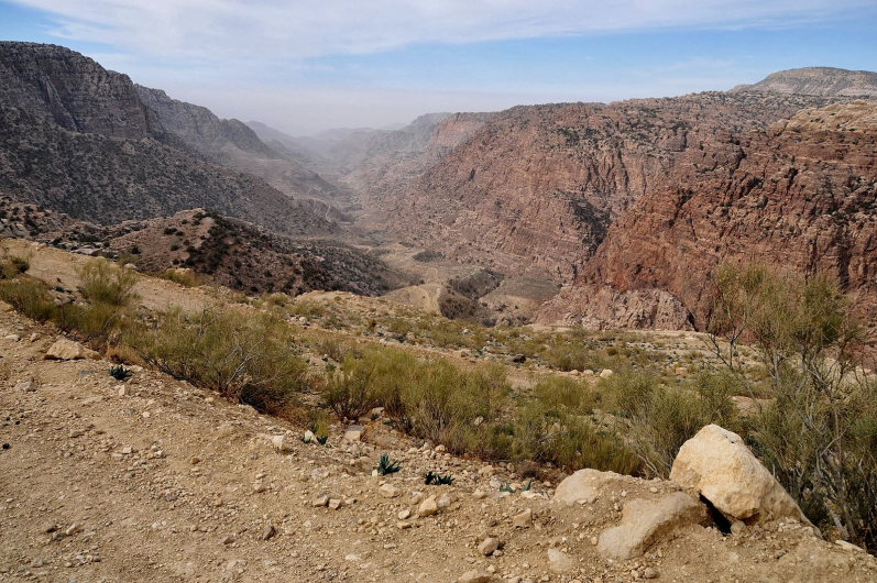 Dana Area: Rummana Mountain Trail 3 - © wiki user hikinginjordan