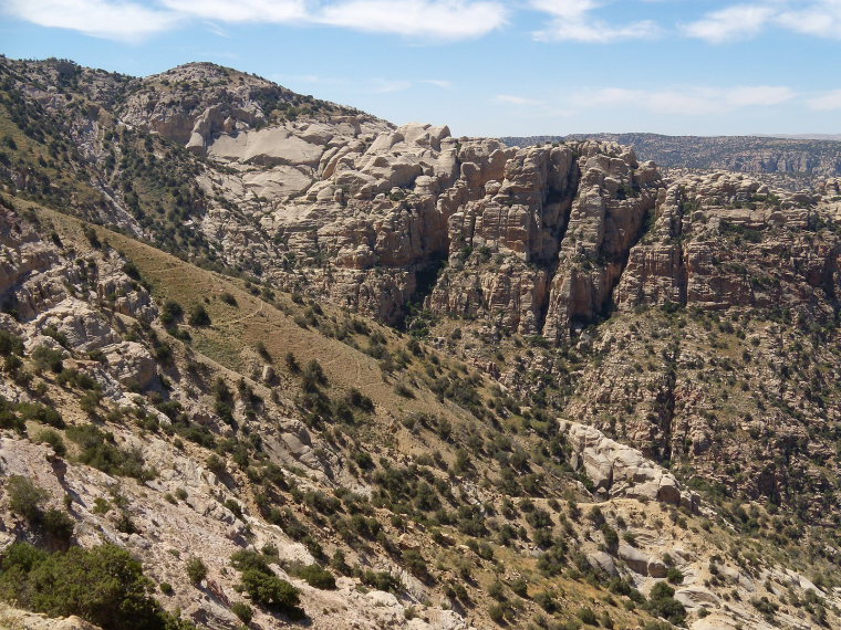 Dana Area: Wadi Dana, Jordan - © wiki user anagh