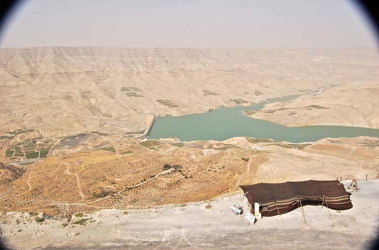 Wadi Mujib Reserve - © By Flickr user Dominqueb