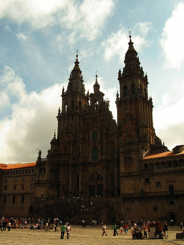 Santiago de Compostella - © By Flickr user Jule_Berlin