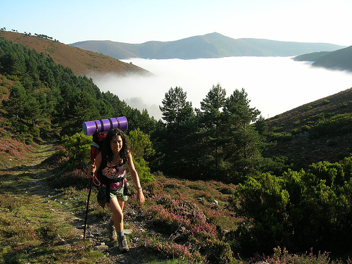Camino del Norte (Camino de Santiago alternative route): Camino Primitivo - © By Flickr user Freecat