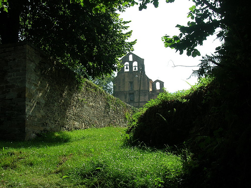 Monastery, Obona, Camino Primitivo - © By Flickr user JuanJeitor