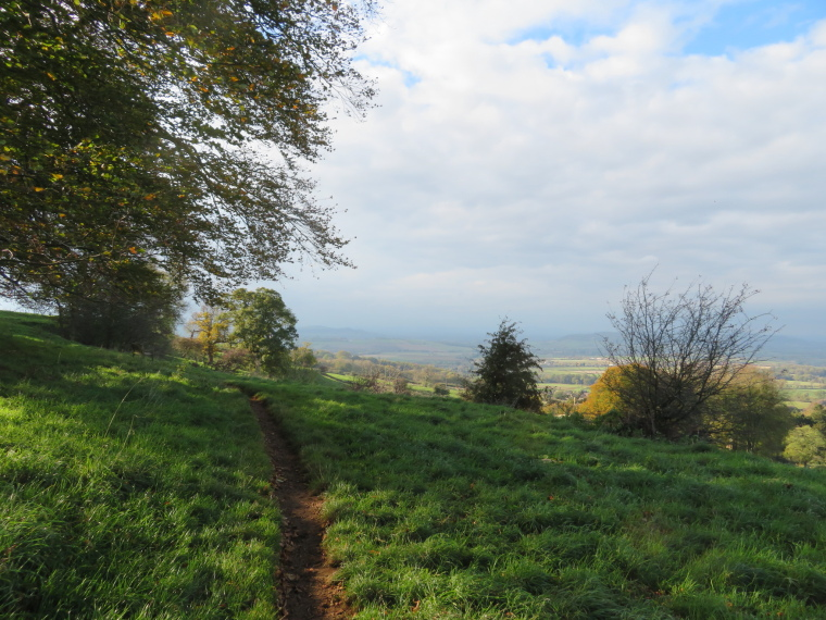 Cotswold Way: Above Hailes