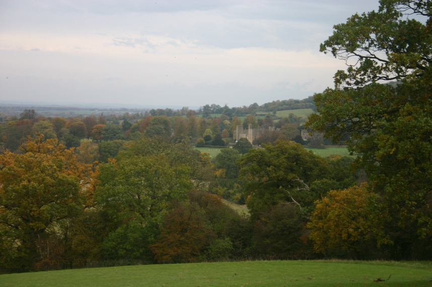 Cotswold Way: Sudeley Castle, Autumn