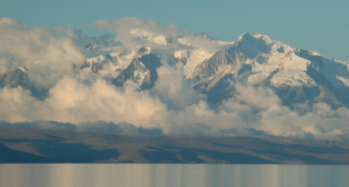 Andes, From the Isla del Sol - © By Flickr user soylentgreen23