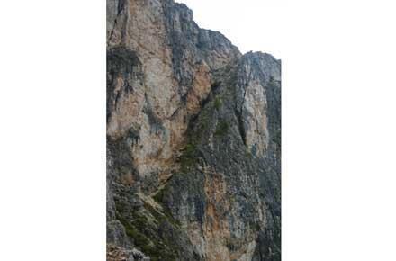 Alta Via No 1 - Second Nuvolau, via ferrata stretch  - © William Mackesy