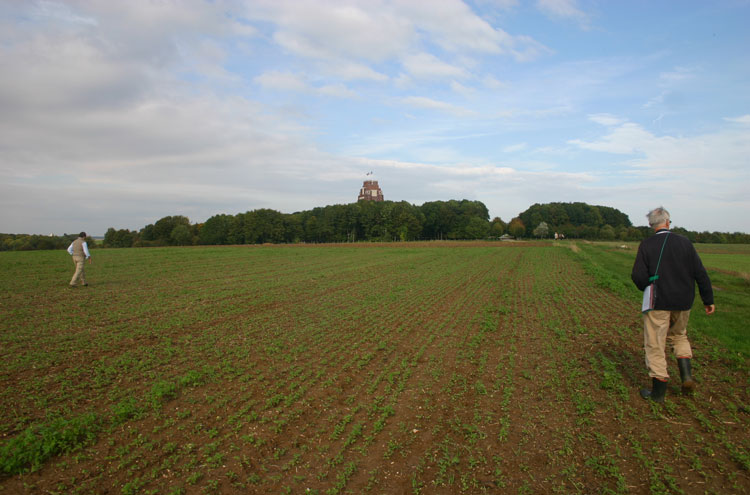 France, First World War Battlefields, Up the ridge to Thiepval, Walkopedia
