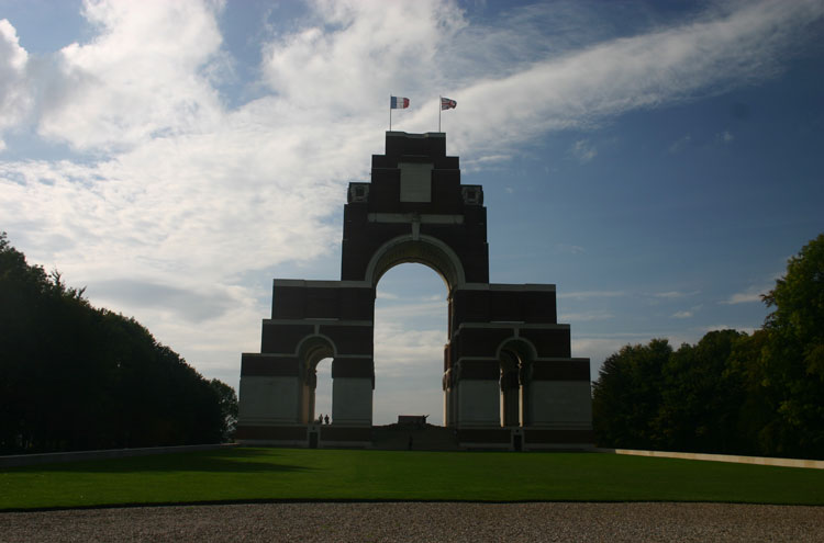 France, First World War Battlefields, Thiepval, Walkopedia