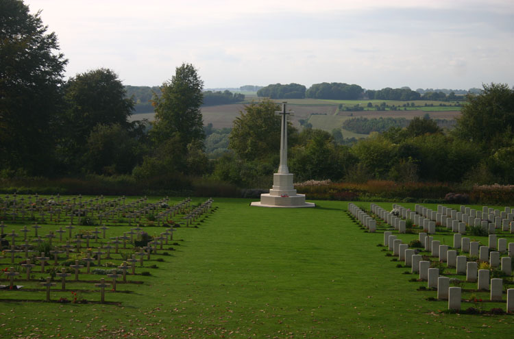 France, First World War Battlefields, Down over the front line, Walkopedia