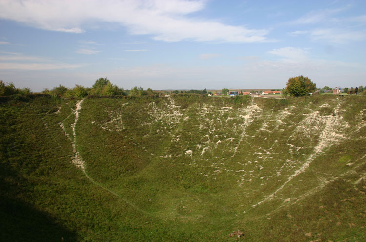 Lochnagar crater - © William Mackesy
