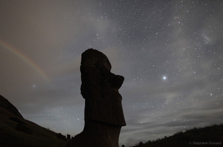 Easter Island, The Universe - © From Flickr user TheBadAstronomer