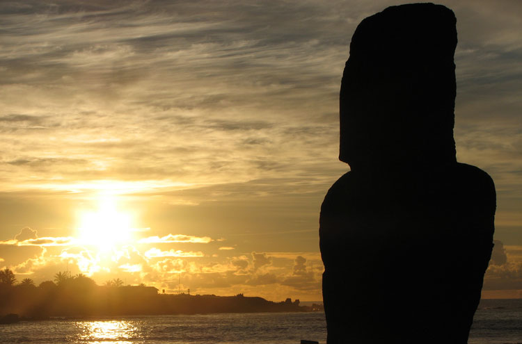 Easter Island, baby! - © From Flickr user Jdelard