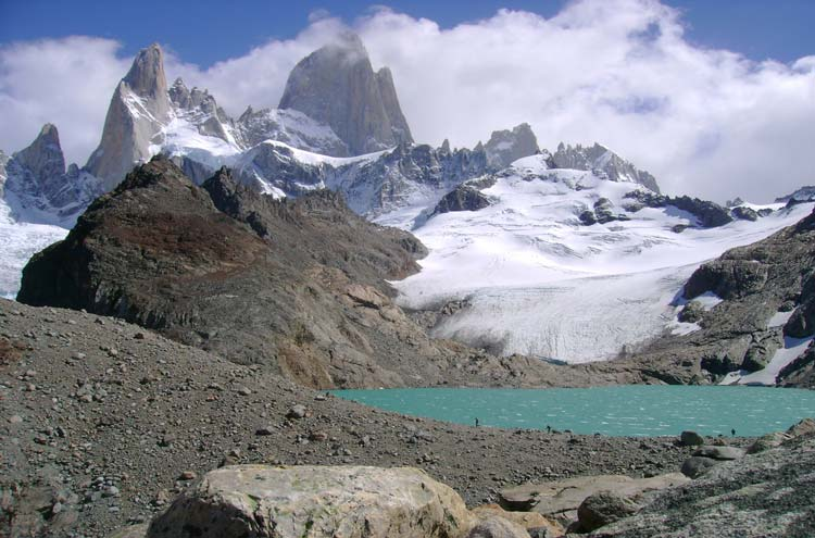 Imponente el Fitz Roy - © By Flickr user flopisubmarina