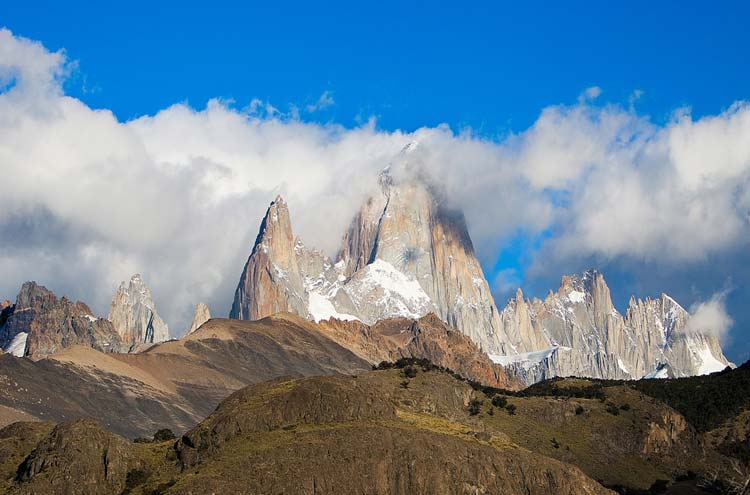 Mount Fitz Roy From El Chalten - © By Flickr user longhorndave