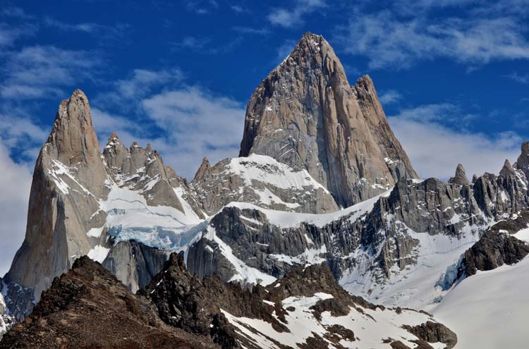Mount Fitz Roy - © By Flickr user GeoffLivingston