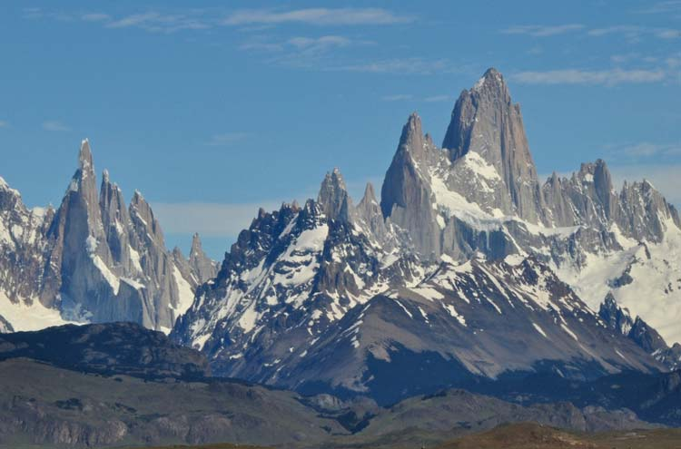 Torre and Fitz Roy - ©By Flickr user GeoffLivingston...