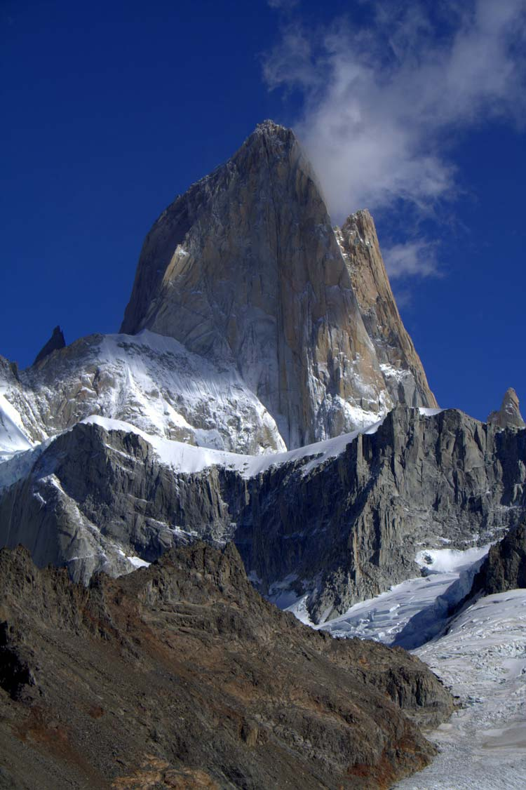 Close-up of Fitz Roy - © By Flickr user H_Dragon
