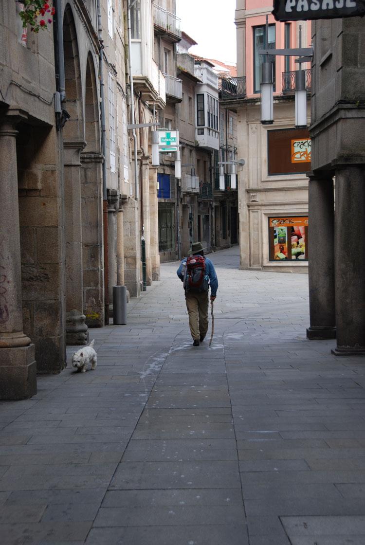 Camino Portugues: Camino Portugues, leaving Pontevedra - © By Dee Mahan