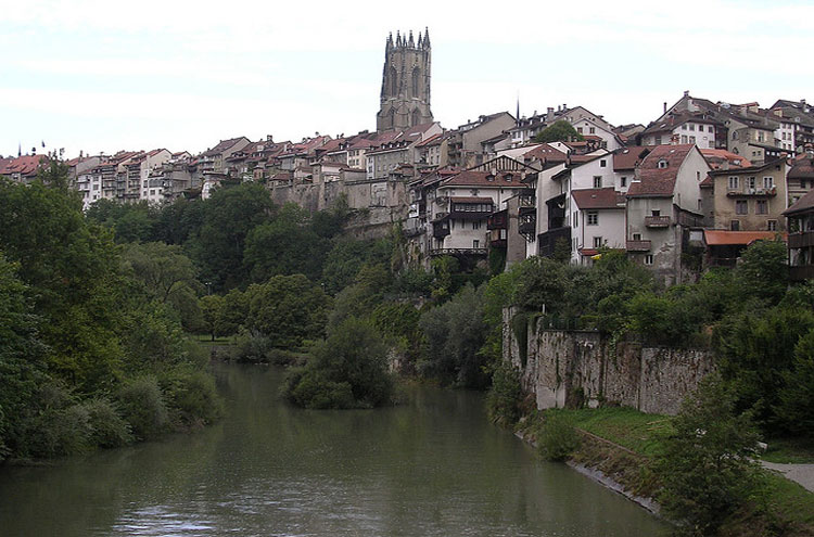 Fribourg - © By Flickr user ActiveSteve