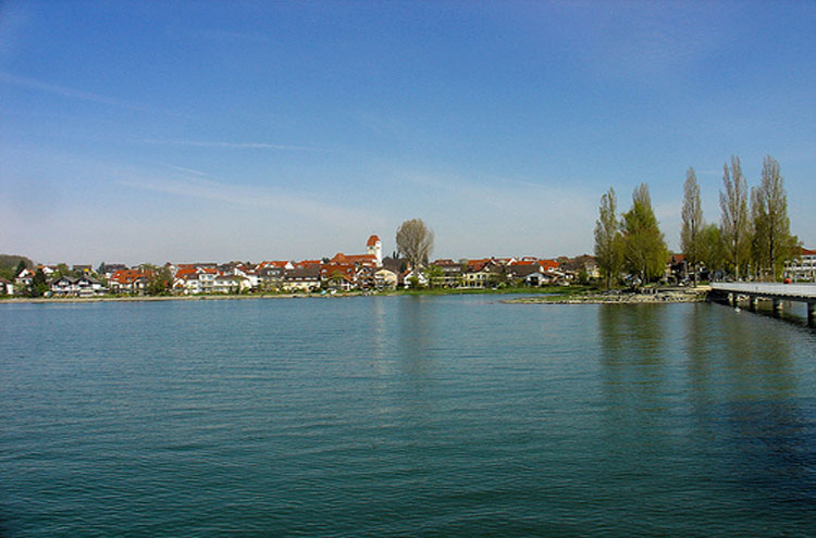 Konstanz From the Bodensee - © By Flickr user Allie_Caulfield