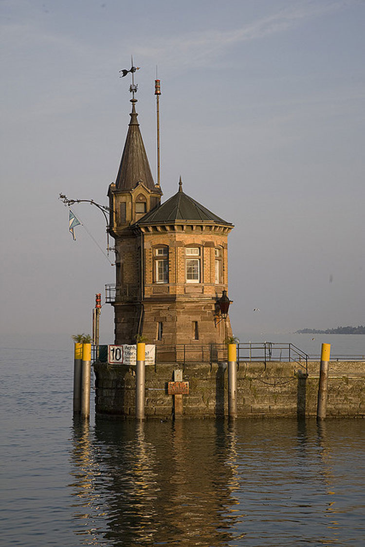 Konstanz Harbour - © By Flickr user Tom_Vogler