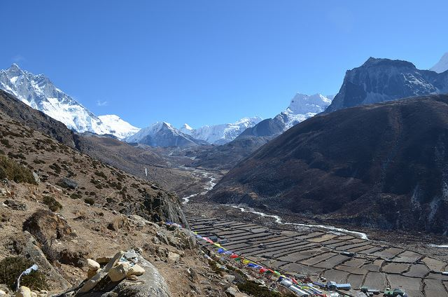 Mt Everest Base Camp: Everest Base Camp, Nepal - Trek to Base Camp - © Flickr user gorbulas_sandybanks