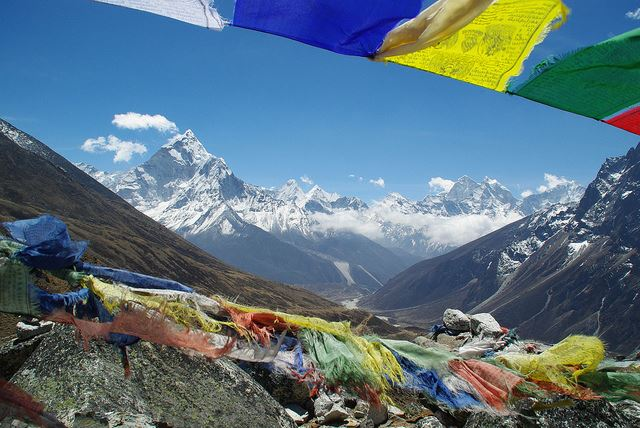 Everest Base Camp, Nepal - Pheriche to Lobouche - © Flickr user girolame