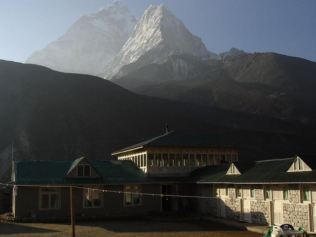 Mt Everest Base Camp: Everest Base Camp, Nepal - teahouse at Dingboche - © Flickr user auldhippo