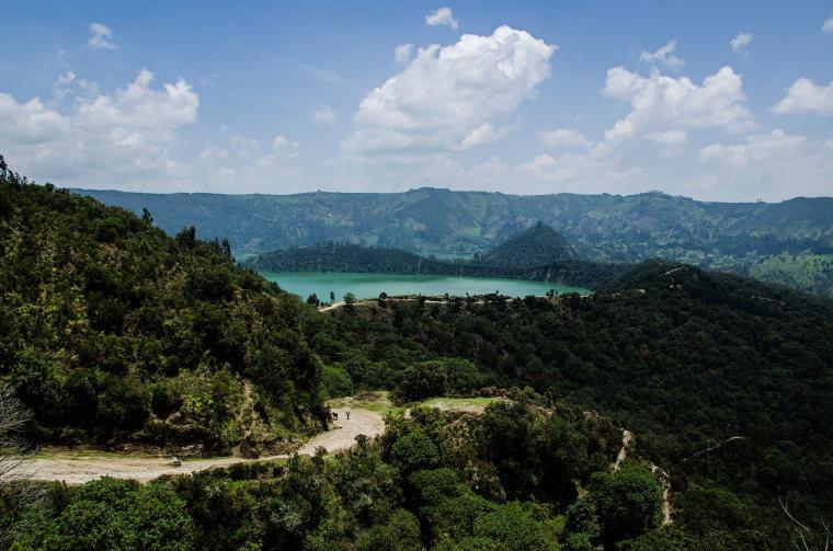 Ethiopia Central, Wonchi Crater Lake , Wonchi Lake of Ethiopia, Walkopedia