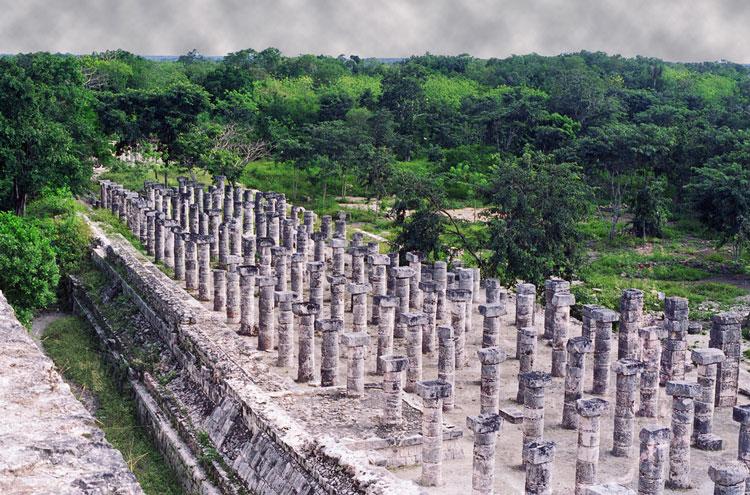Mexico Yucatan Peninsula, Chichen Itza, Chichen Itza, Walkopedia