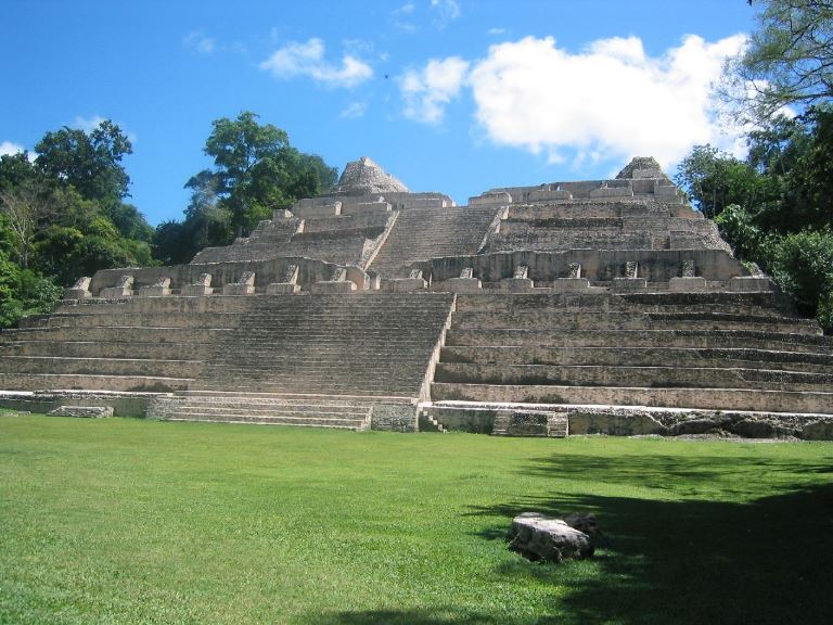 Mayan Ruins at Caracol  - © flickr user- Nathan LeClair