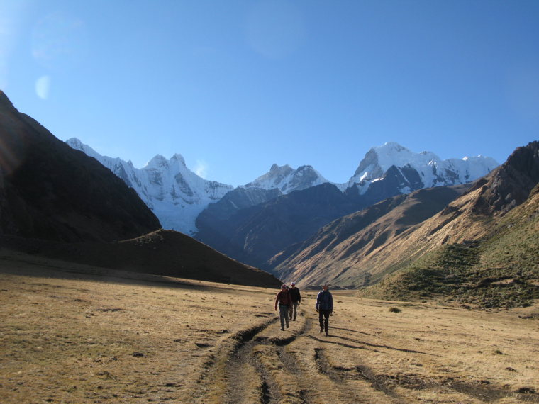 Huayhuash Circuit: Final day-Yerupaja in bkgrnd - © Charles Bookman
