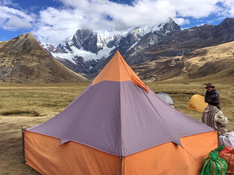 Huayhuash Circuit: Mitucocha campsite - © Charles Bookman