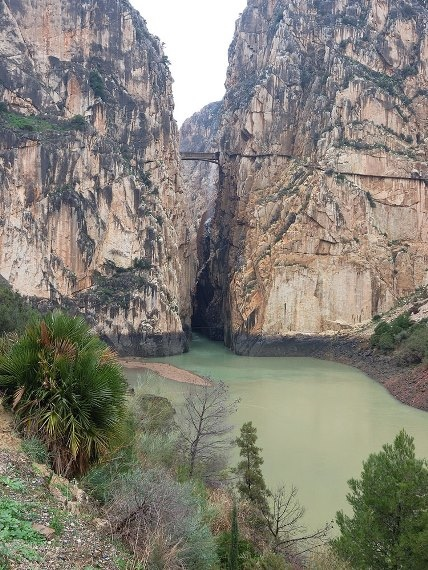Caminito del Rey - © By Flickr user Rosino