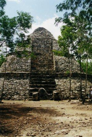 Tulum, and Coba to Yaxuna: Coba Temple - © By Flickr user WxMom