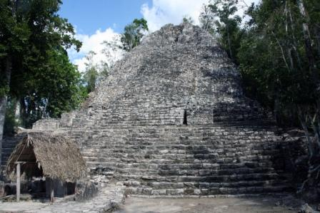 Tulum, and Coba to Yaxuna: Coba, La Iglesia Church - © By Flickr user Redeo