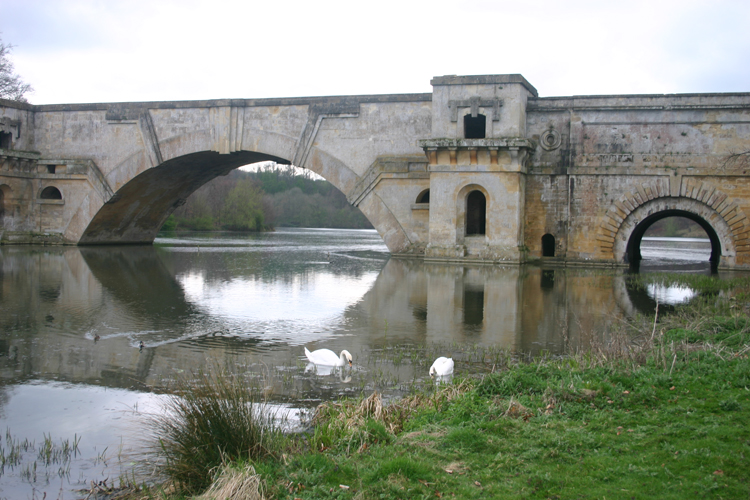 The Grand Bridge, Blenheim Palace - ©William Mackesy...