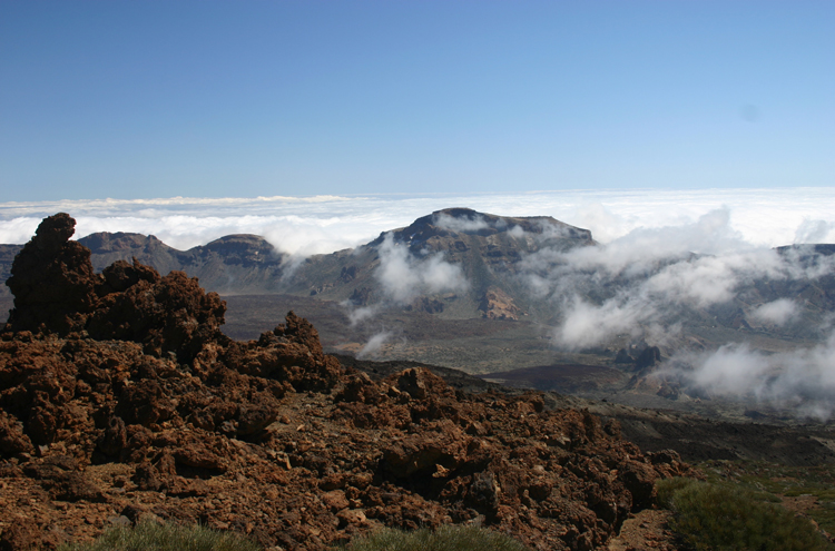 Tenerife: Las Canadas From below Pico Viejo - © William Mackesy