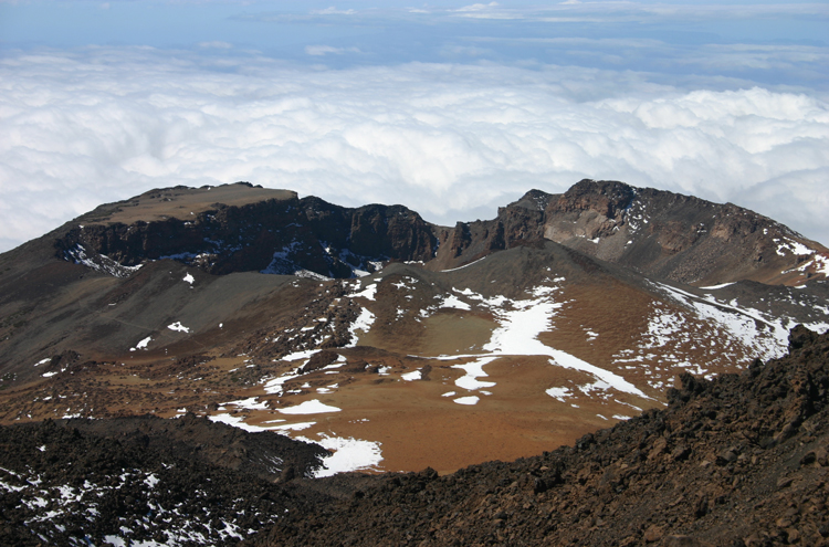 Pico Viejo From El Tiede - © William Mackesy