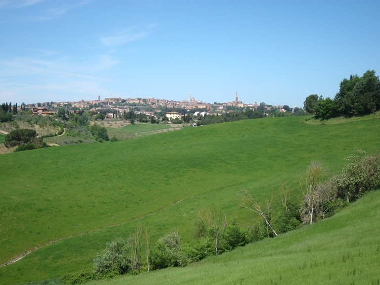 Tuscany -  Siena from southern outskirts  - © William Mackesy