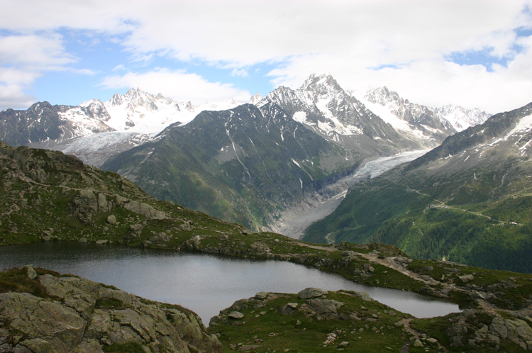 Lac Blanc and Southern Aiguilles Rouges Traverses: Aiguilles Rouges - © William Mackesy