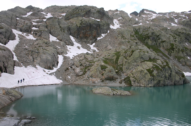 Lac Blanc and Southern Aiguilles Rouges Traverses: Lac Blanc - © William Mackesy